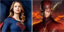 Флэш и Супергерл встретятся в кадре